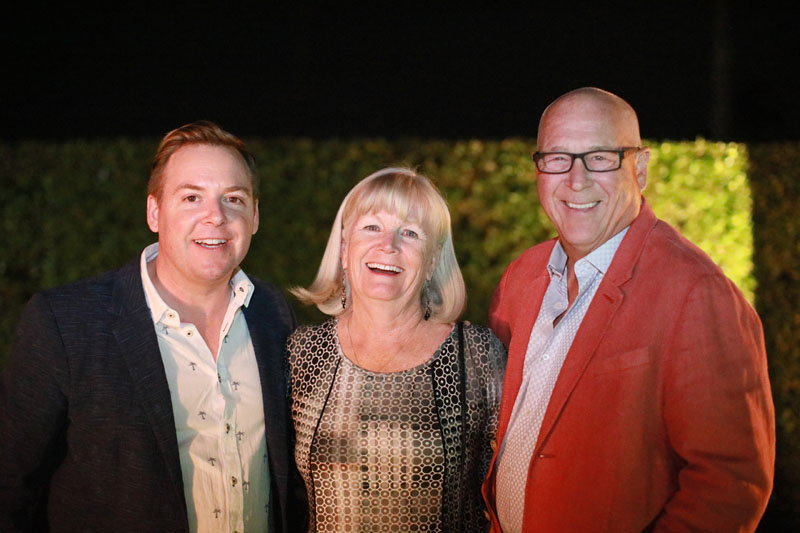 Christopher Kennedy, Marilyn Neis and Jerry Neis
