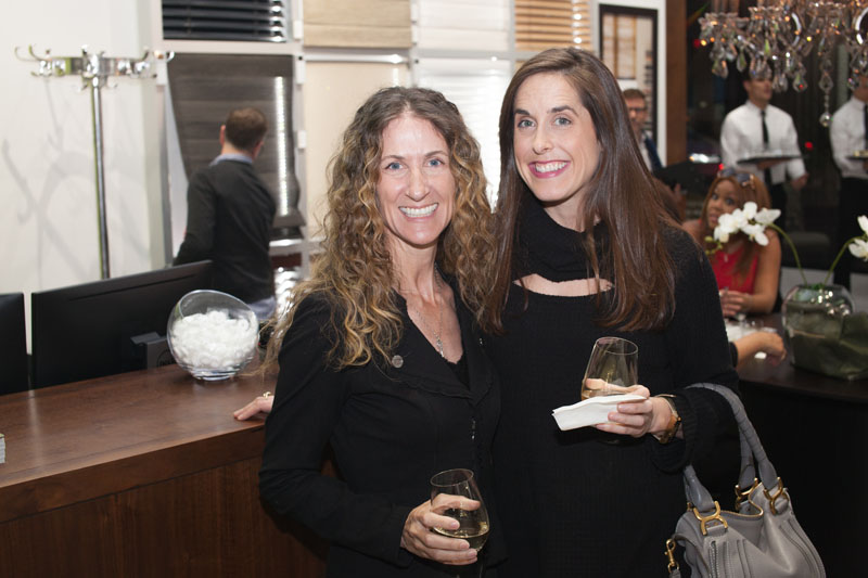 Amy Barnard and Genevieve Trousdale