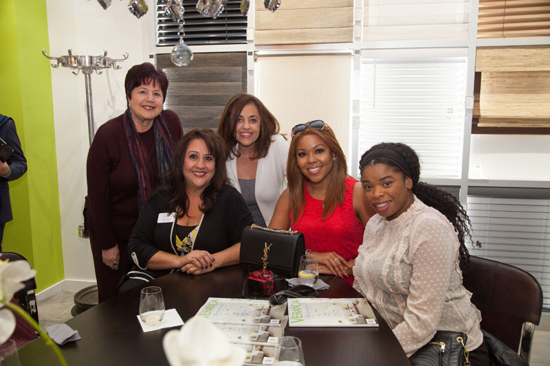 Marsha Hoffman, Michele La Flesch, Kathy Entessar, LaToya Mack and Caroline Waters