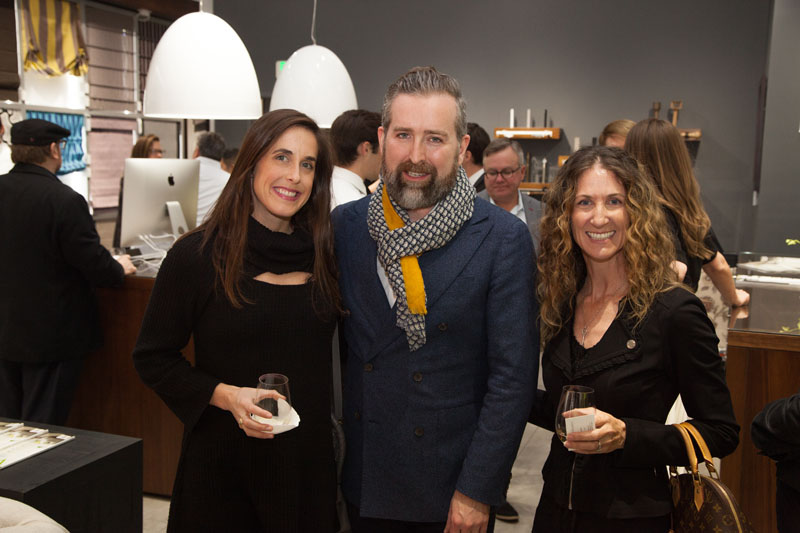 Genevieve Trousdale, Clinton Smith and Amy Barnard