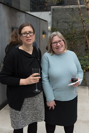 Sara Stemen and Lia Hunt of Princeton Architectural Press