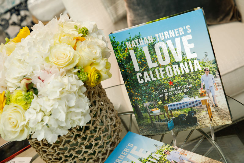 Designer Nathan Turner's new cookbook, 'Nathan Turner's I Love California: Live, Eat and Entertain the West Coast Way'