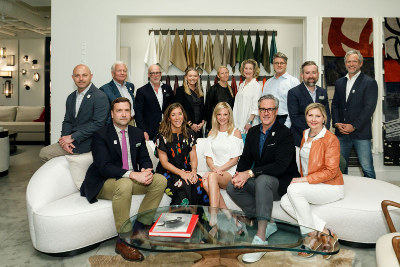 The 2018 Southeast Designers & Architect of the Year finalists are picture-perfect with Veranda editor in chief Clinton Smith and ADAC general manager Katie Miner.