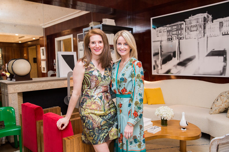 House Beautiful's Sophie Donelson and Kohler's Elizabeth Brady