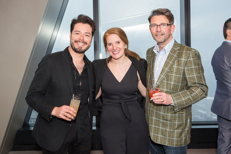 Jonathan Rom, Sophie Donelson and Jeffrey Parker
