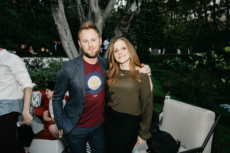 Bobby Berk and Courtney Pisarik