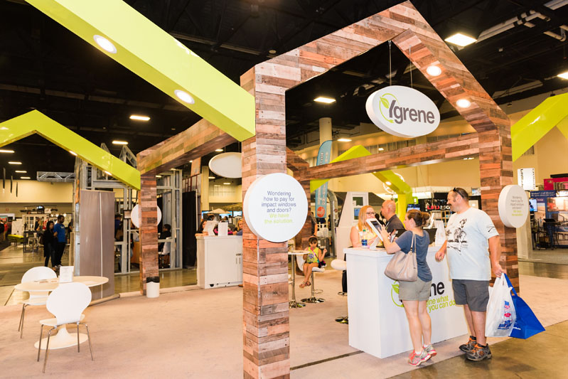 Ygrene was one of 250-plus businesses exhibiting at this year's show.
