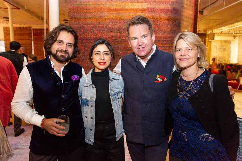 Siddharth Kasliwal, Sana Rezwan Sait, Paul Austin and Christine Goppel