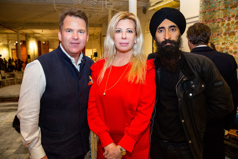 Paul Austin, Aslaug Magnusdottir and Waris Ahluwalia