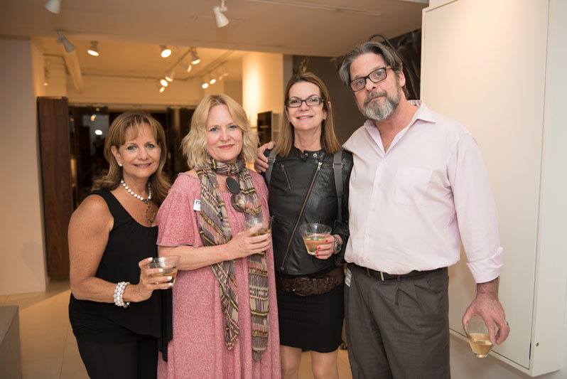 Andrea Algaze, Lisa Blecker, Andrea Warriner and Richard Segal