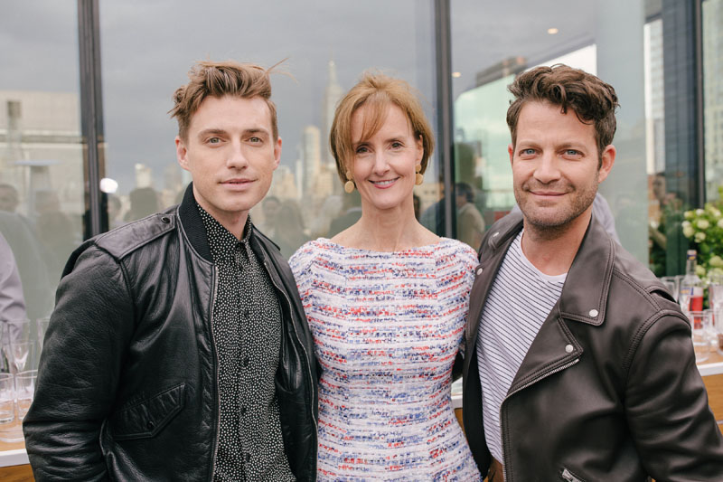 Jeremiah Brent, Kate Kelly Smith and Nate Berkus
