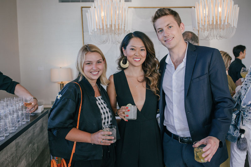 Lea Cojot, Sophia Chang and Chad Stark