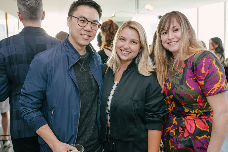 Kevin Lee Yi, Lea Cojot and Julia Rugg