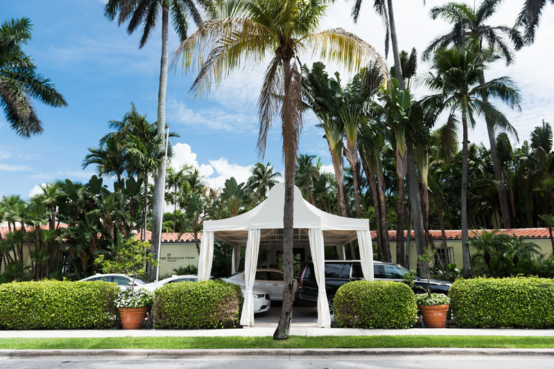 The summit was held at the Brazilian Court Hotel in Palm Beach.