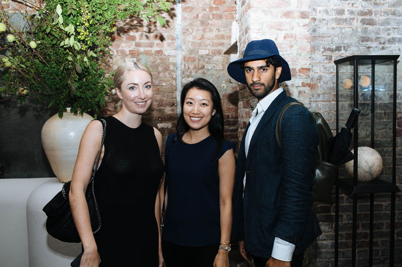 Claire Gillin, Yeana Lee and Aman Ahluwalia