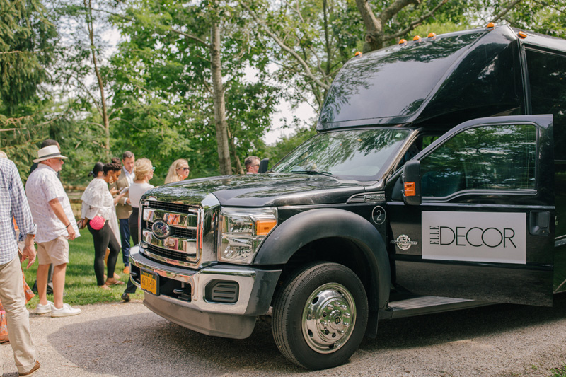 The Elle Decor shuttle