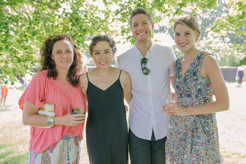 Liz Lattanzio, Jane Gelb, Steven Maiuri and Alicia Horvath