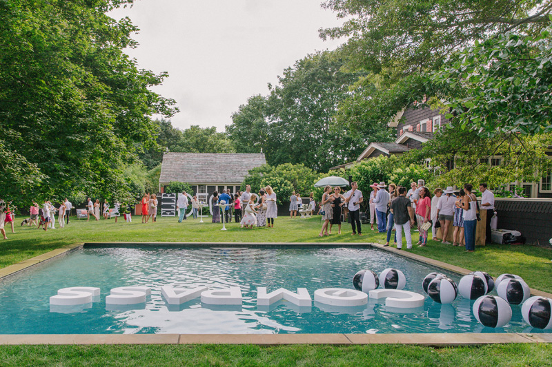 Aqualilles make their Hamptons debut.