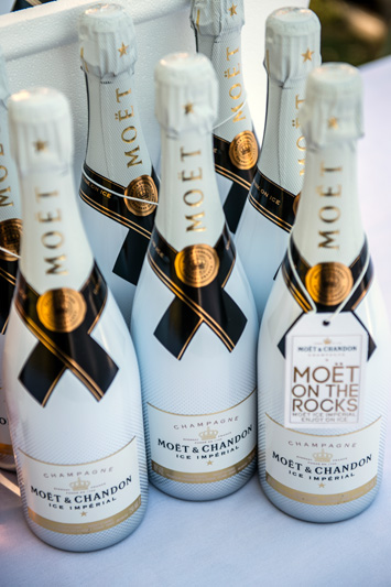Moët & Chandon was one of the sponsors of the evening.