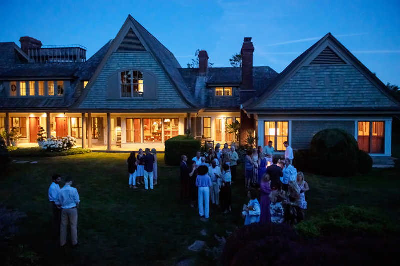 The evening kicked off Traditional Home's Hampton Designer Showhouse weekend.