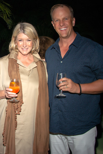 Martha Stewart and Shane Judd
