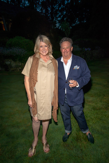 Martha Stewart and Steven Stolman