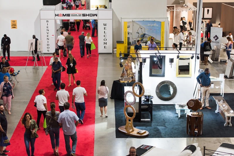 Show attendees enjoyed over 150,000 in exhibition space finding the latest in home design and improvement.
