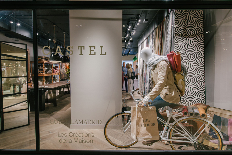 Castel opened its first-ever flagship showroom at the D&D Building in Manhattan.