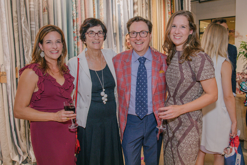 Laura Silverman, Katherine Scully, Dennis Scully and Kaitlin Petersen