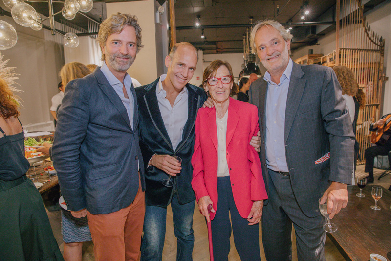Borja López de Lamadrid, Stephane Silverman, Monique Silverman and Álvaro López de Lamadrid