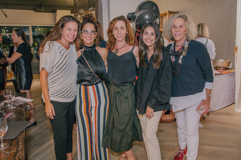 Michele Dopp, Laurie Blumenfeld-Russo, Samantha Gore, Julia Duke and Barbara Gore
