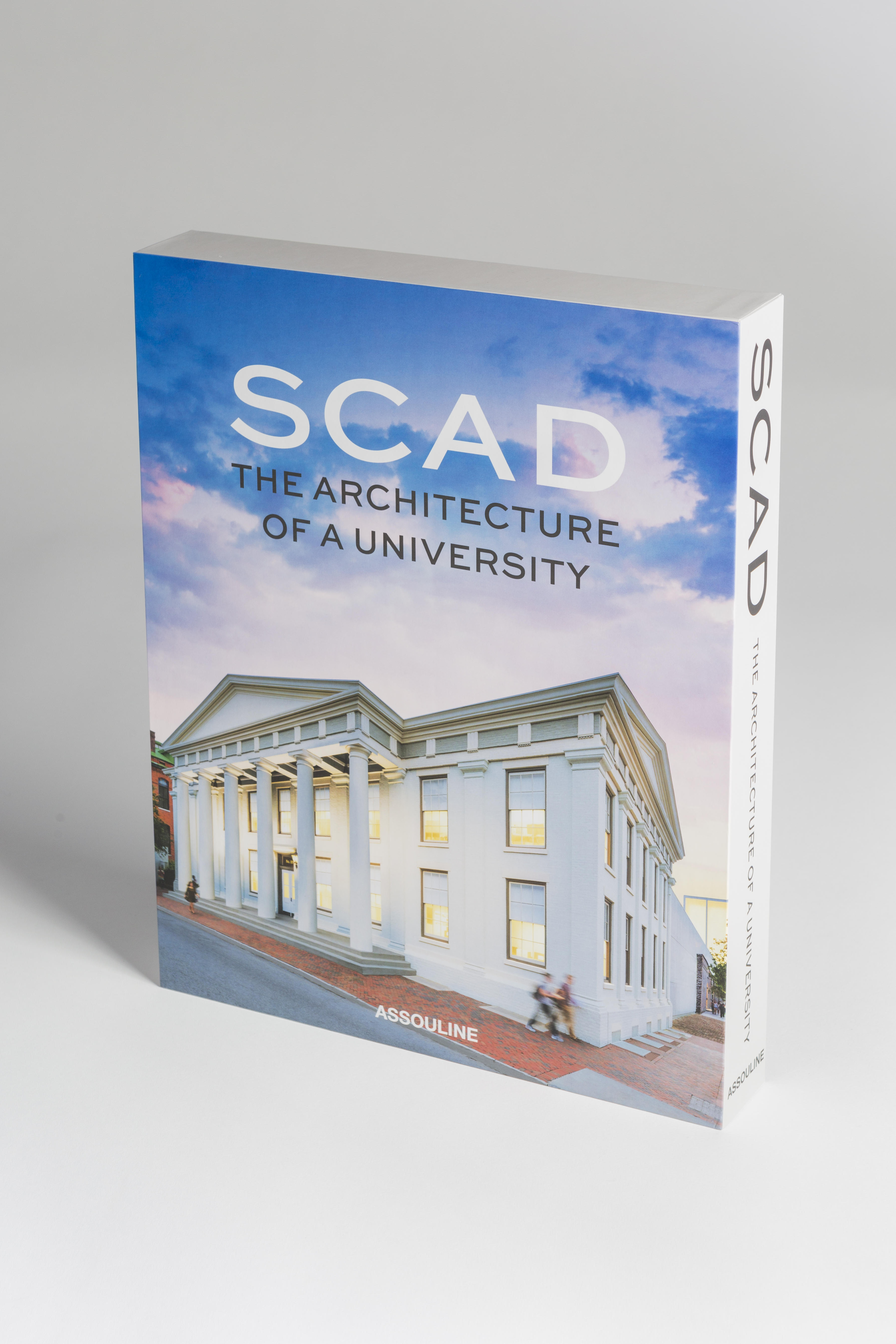 A copy of 'SCAD: The Architecture of a University,' from Assouline
