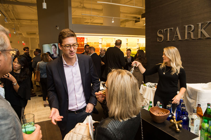 Chad Stark welcomes designers to the newly reimagined trade showroom.