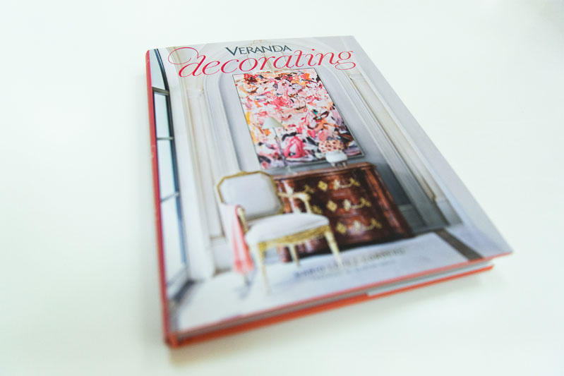 All guests got to take home a copy of Veranda Decorating.