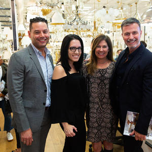Circa Lighting hosts Verand book signing