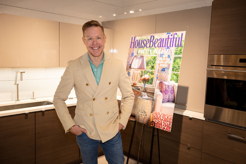 Designer, author, and House Beautiful contributing editor Eddie Ross