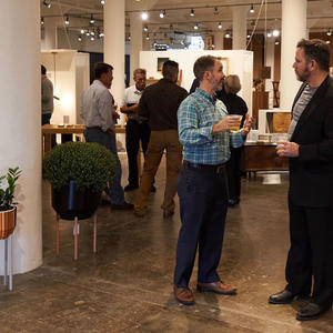 Plant Seven opening during High Point Market