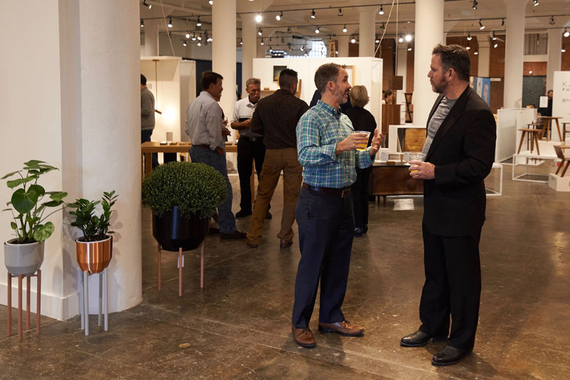 Plant Seven, High Point's new center for design, culture and innovation, celebrated its soft launch during High Point Market.