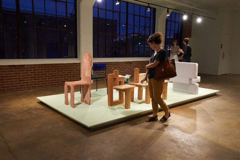 The exhibition 'This Is Not a Chair'