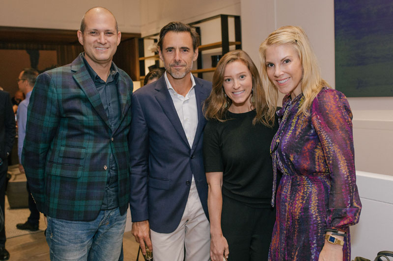 Bill Pittel, Christophe Caillaud, Katie Tomlinson and Karen Marx
