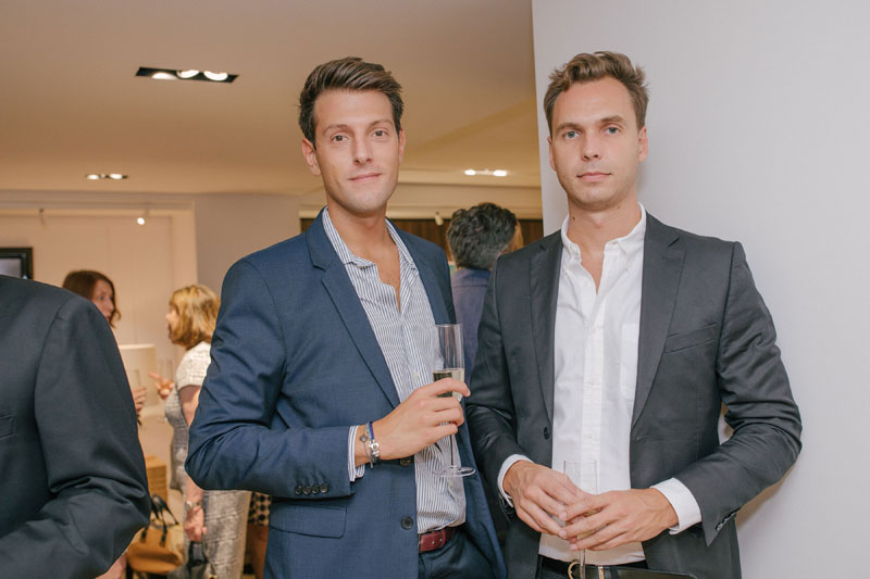 Alexandre Soubev of L'Oréal and Pierre-Emmanuel Perais