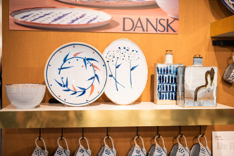 The new Vandvid collection for Dansk, designed by Niels Refsgaard