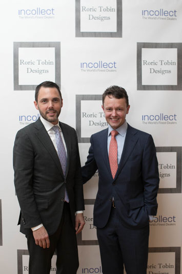 David Sprouls, president of NYSID, and Roric Tobin