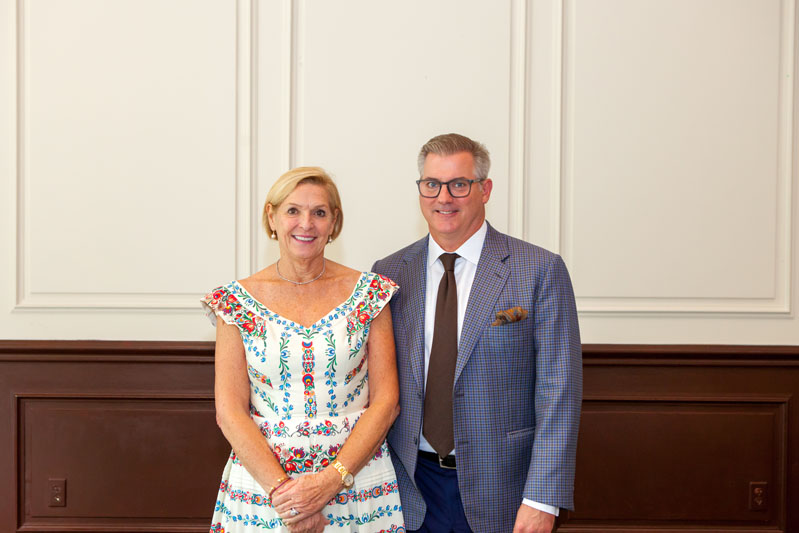Summit co-hosts Mally Skok, a Rohl Auth Lux Designer Guild member, and