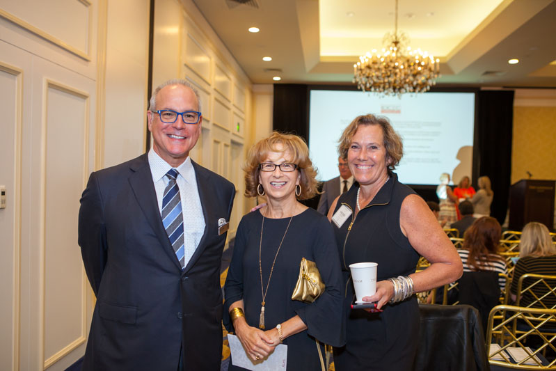 Mark Rohl of Rohl,  Beezee Honan of Designer Bath and Salem Plumbing Supply, and Sherry Qualls