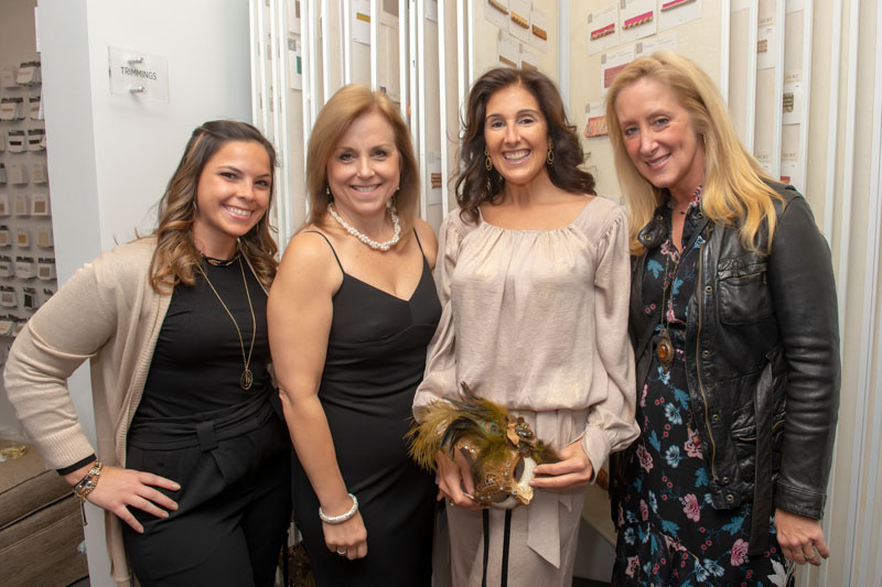Jacquelyn Lagravinese, Donna Gallucci, Katharine McGowan and Tracey Kaplan
