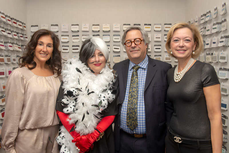 Katharine McGowan, Kim Hendrickson Radovich, RAD Group CEO Lee Silberman and Jackie Higgins