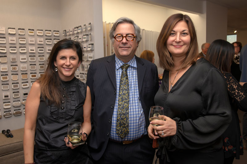Robin Gordon with Lee and Cheryl Silberman