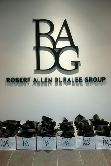 The front of the new Robert Allen Duralee Group showroom