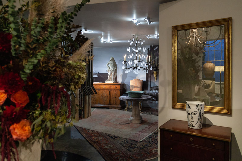 The Fortuny space at Dessin Fournir L.A.